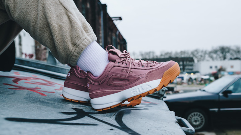 8d402c660f921 FILA s Collab With Solebox Creates Pink Perfection In The Disruptor ...