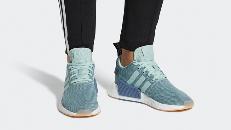 low priced 0d2f2 5efb2 adidas NMD R2 Blue Women's | CQ2010