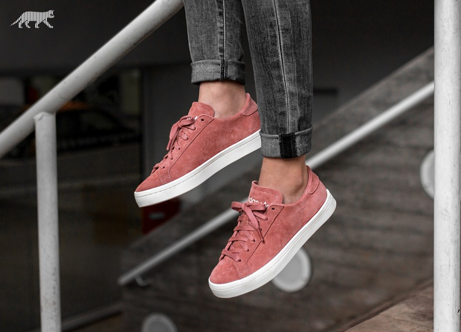 adidas Embraces The Suede Trend In Cute Court Vantage Kicks ...