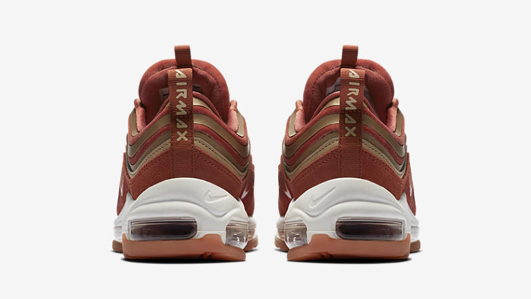 Nike Air Max 97 Ultra '17 Velvet Trainers In Dusty Peach