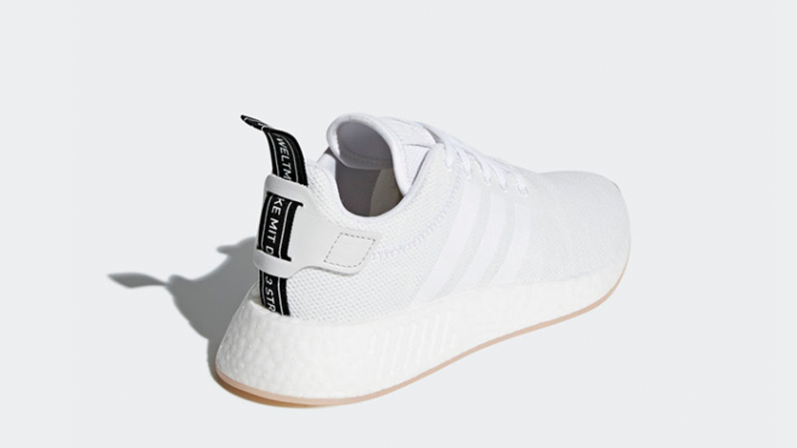 adidas NMD R2 White Women's | Where To Buy | CQ2009 | Sciaky