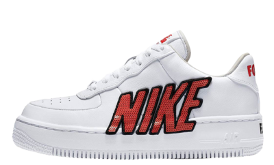 "2018 Wmns Nike Air Force 1 Low ""Moto"" AT2583 100"