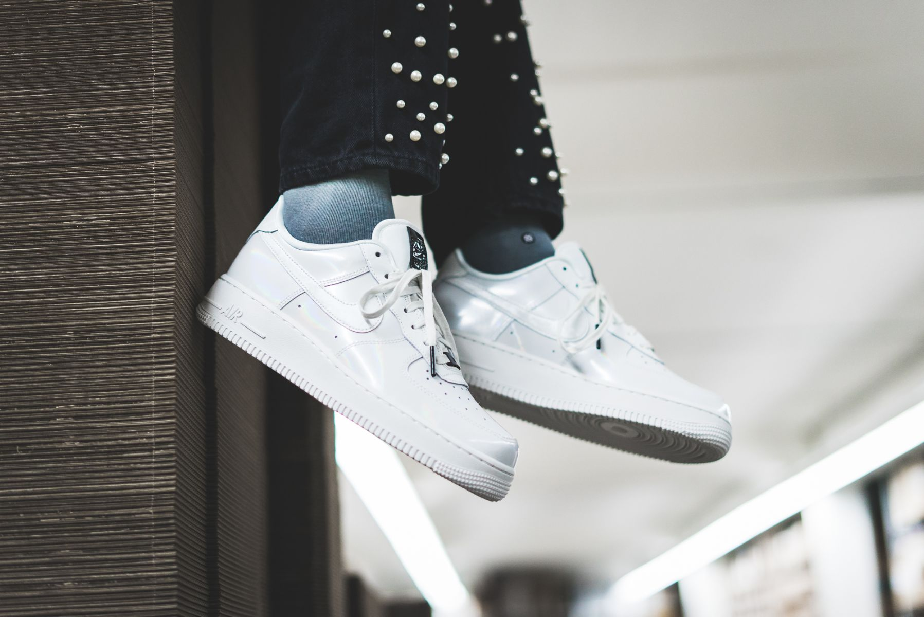 Is The Air Force 1 07 LX Nike's Most Glamorous Silhouette
