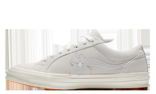 Converse x Golf Le Fleur One Star White
