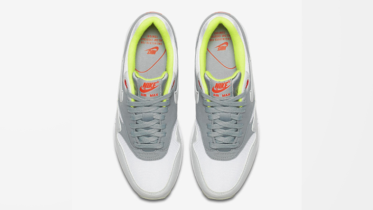 Nike Air Max 1 Grey Neon Womens