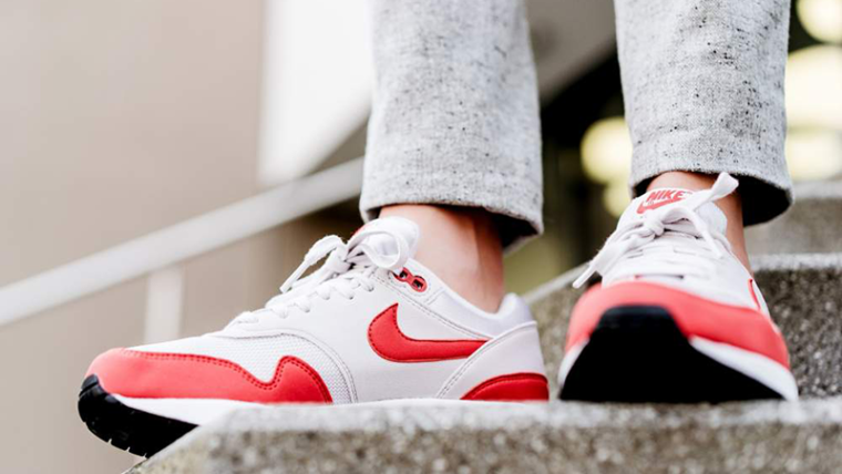 Nike Air Max 1 Habanero Red Womens   319986-035