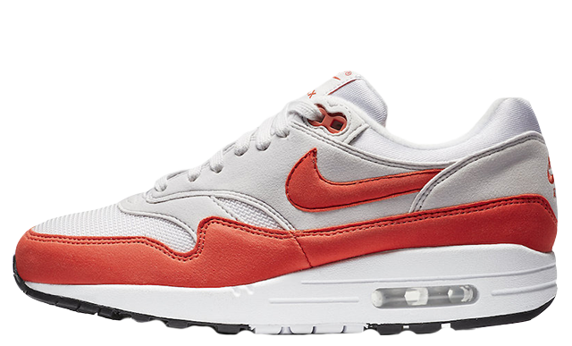Nike Air Max 1 Habanero Red Womens | 319986-035