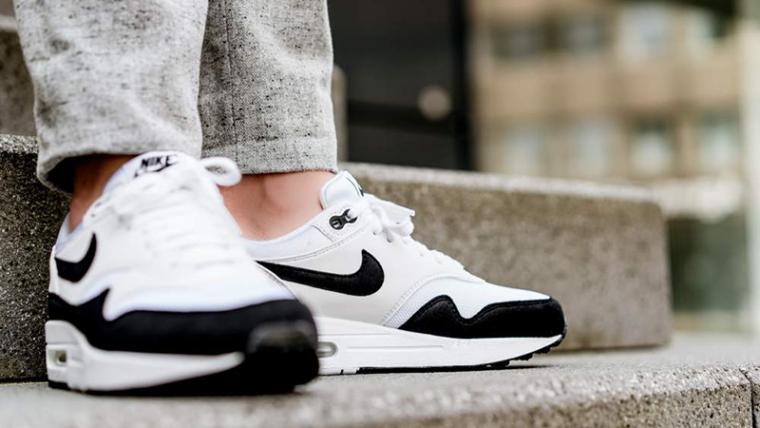 Nike Air Max 1 White Black Womens