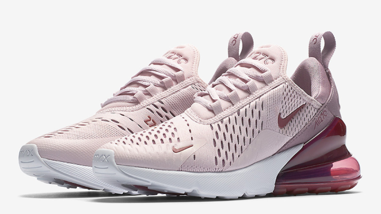 Nike Air Max 270 Rose White Womens  2cb3d4138d