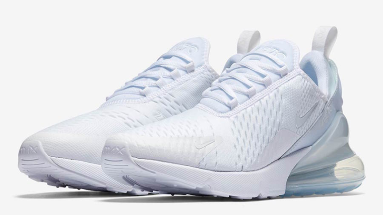 new product 41343 f0830 Nike Air Max 270 Triple White Womens | AH6789-102