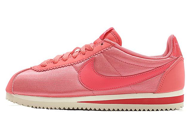 super popular ab22d c6868 Nike Classic Cortez Nylon Pink White | 749864-802