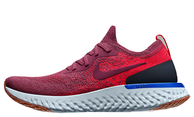 Nike Epic React Flyknit Rust Pink Womens | AQ0070-601