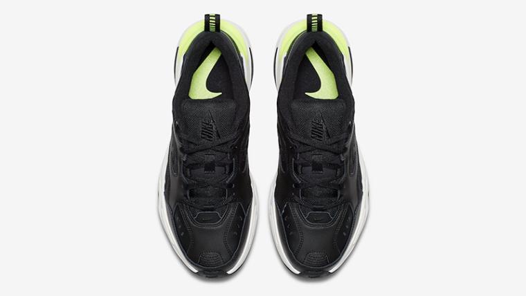 5e03a493cfc4 Nike M2K Tekno Black Volt Womens | AO3108-002 | The Sole Womens