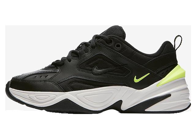 Nike M2K Tekno Black Volt Womens