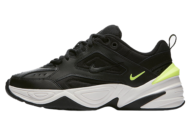 988b75691e63 Nike M2K Tekno Black Volt Womens
