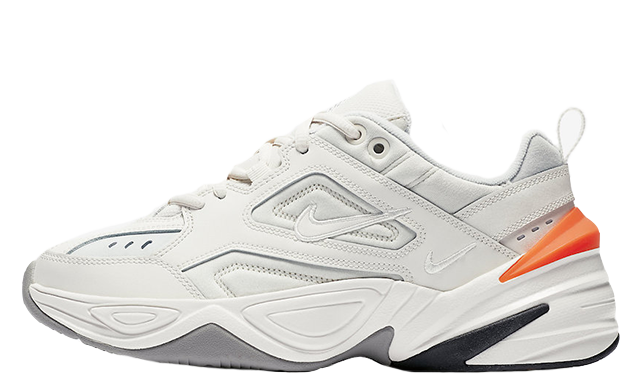 Nike M2K Tekno White Crimson Womens