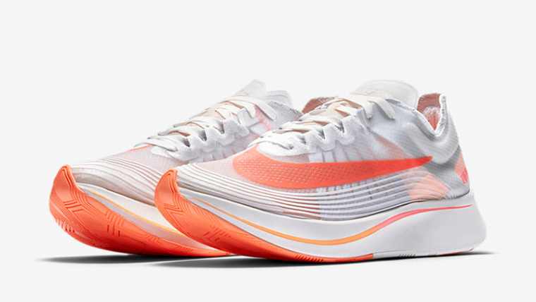 online retailer 92d54 9aa09 Nike Zoom Fly SP Neon Orange Womens | AJ8229-108 | The Sole Womens