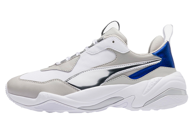 PUMA Thunder Electric White Grey Womens