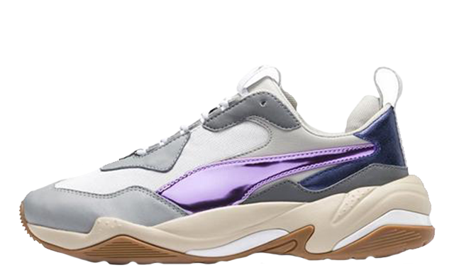 PUMA Thunder Electric White Pink Womens