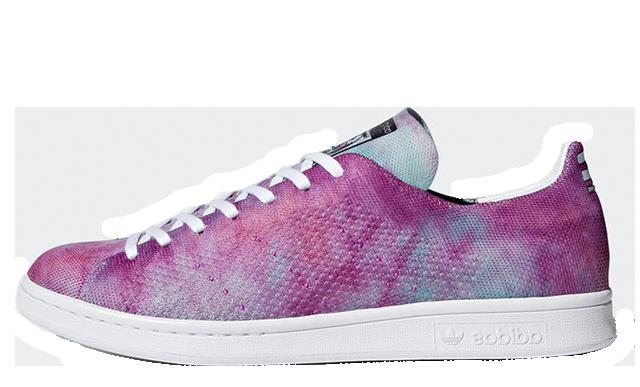 Pharrell x adidas Stan Smith Hu Holi Pink Glow   DA9612