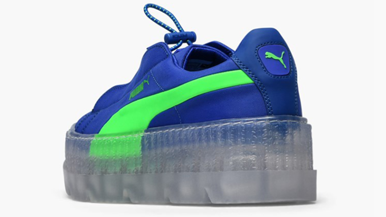 online store 9d966 eb64a Rihanna x PUMA Fenty Cleated Creepers Blue Womens | 367681-01