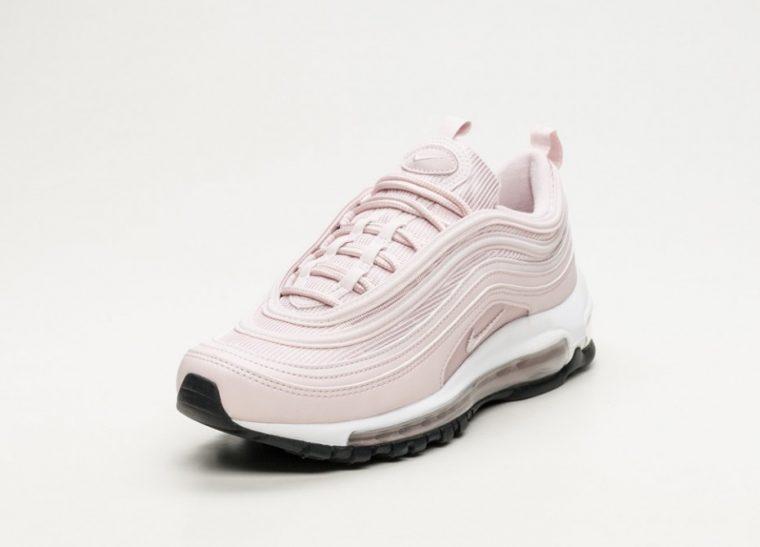 Nike Air Max 97 Pink White Womens | 921733-600 thumbnail image