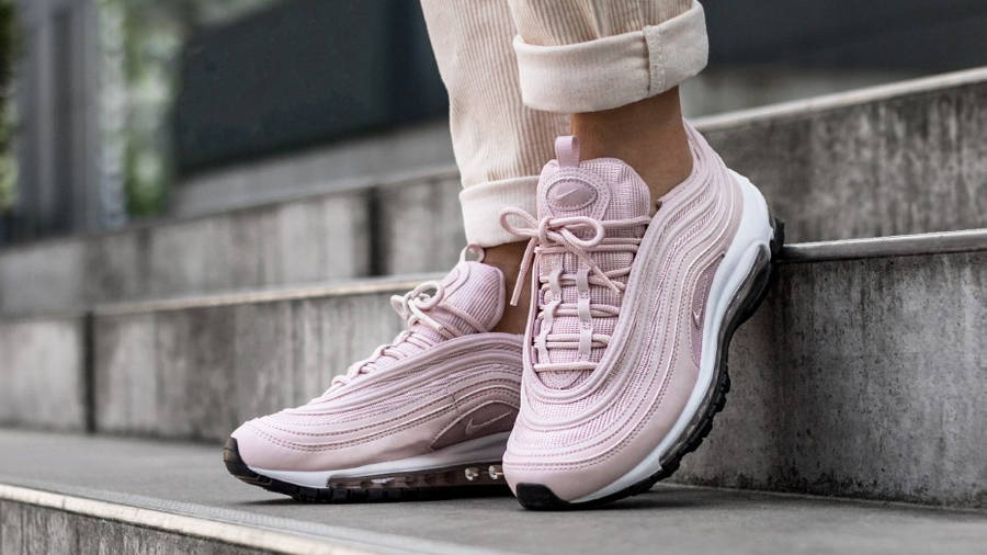 Nike Air Max 97 Pink White Womens | Where To Buy | 921733-600 ...