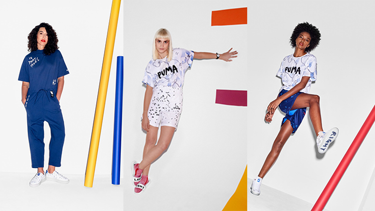 huge selection of b50a1 a652d Doodles Decorate Shantell Martin X PUMA's SS18 Collection ...