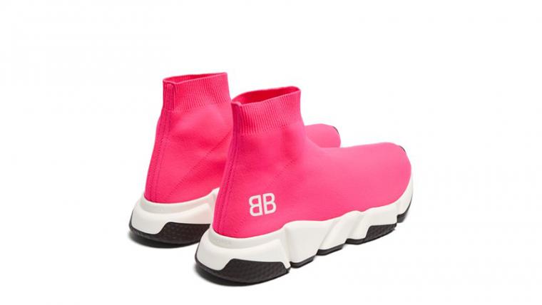 Balenciaga Speed High Top Pink Womens 02 thumbnail image