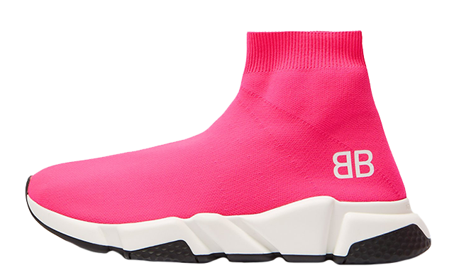 Balenciaga Speed High Top Pink Womens