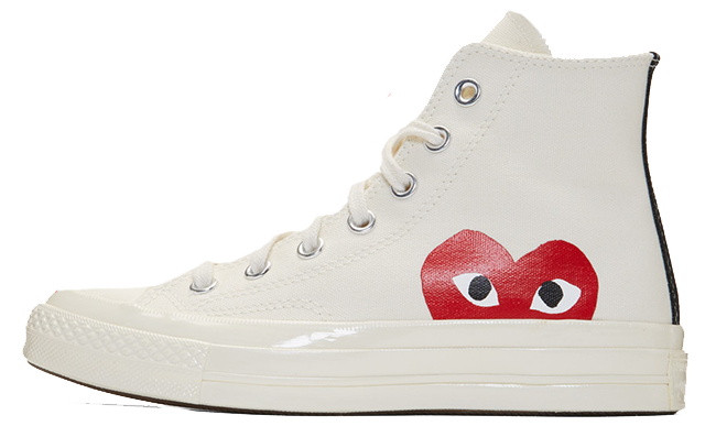 700e99be0e45 ... list of stockists on this page to increase your chances of buying a  pair of these unique sneakers. UK true DD MM YYYY. Comme des Garcons Play x  Converse ...