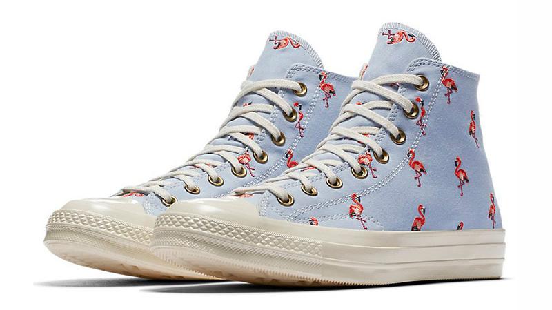 Converse Chuck Taylor All Star 70 Flamingo Blue Womens 160479C 03 640e5c250