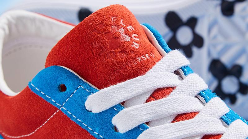 Converse x Golf Le Fleur One Star Lava Blue 162126C 01
