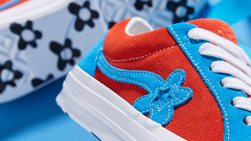 Converse x Golf Le Fleur One Star Lava Blue 162126C 02