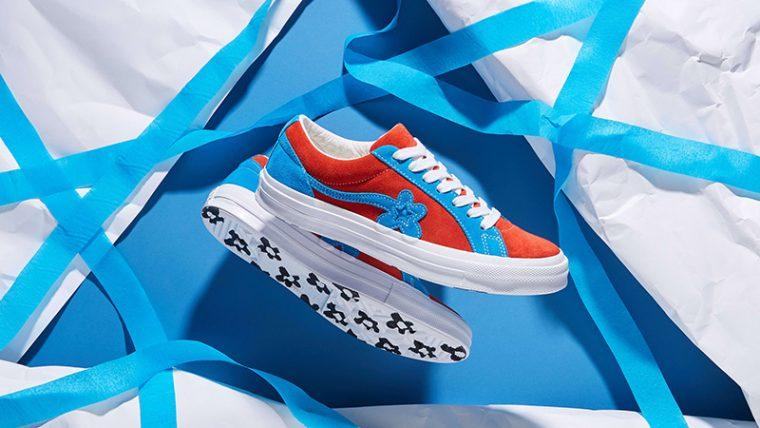 Converse x Golf Le Fleur One Star Lava Blue 162126C 03 thumbnail image
