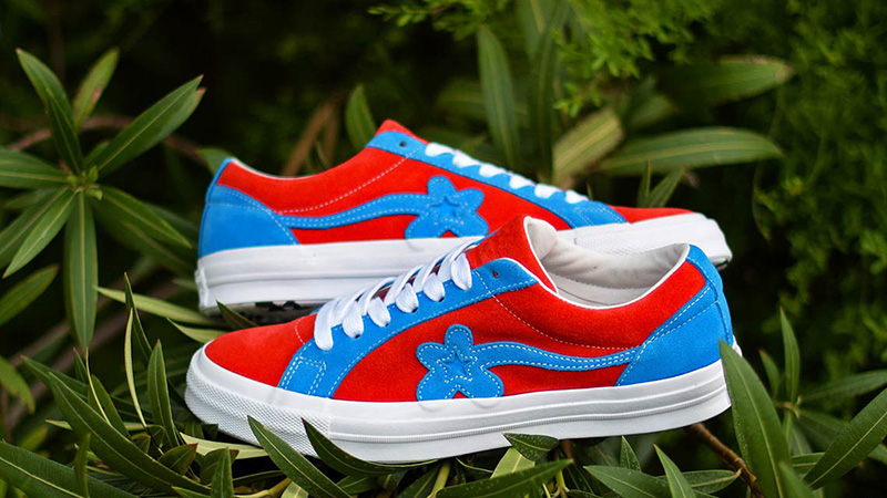 Converse x Golf Le Fleur One Star Lava Blue 162126C 04 1df70e0e4