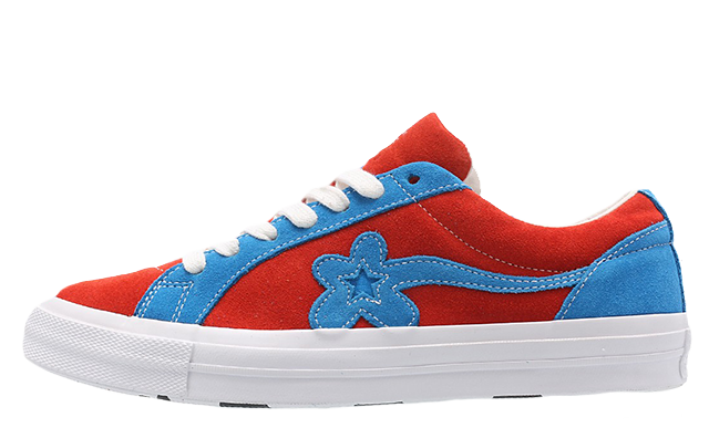 ef4af150b2cb The Converse x Golf Le Fleur One Star Lava Blue is a must cop for any  sneakerhead and is available in unisex sizing. We predict that this sneaker  won t be ...
