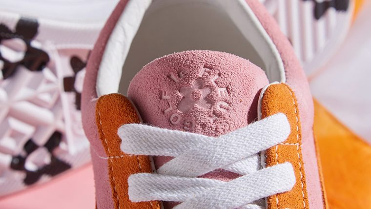 a972af70c03a73 Converse x Golf Le Fleur One Star Pink Orange 162125C 02
