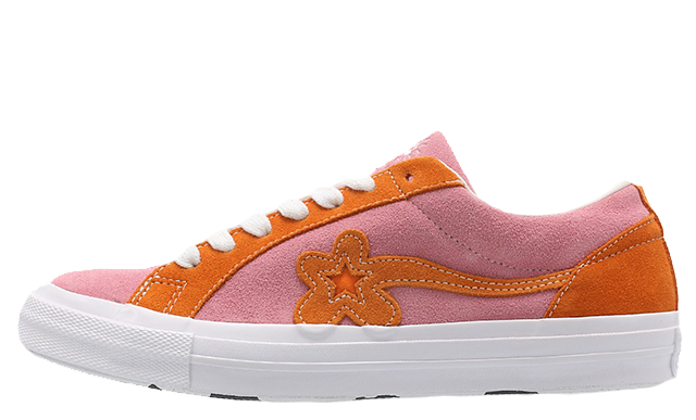 Converse x Golf Le Fleur One Star Pink Orange | 162125C