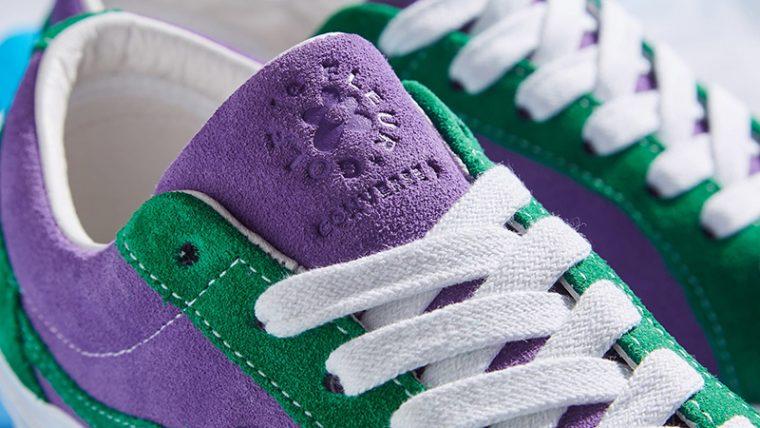 discount bright n colour reasonably priced Converse x Golf Le Fleur One Star Purple Green | 162128C