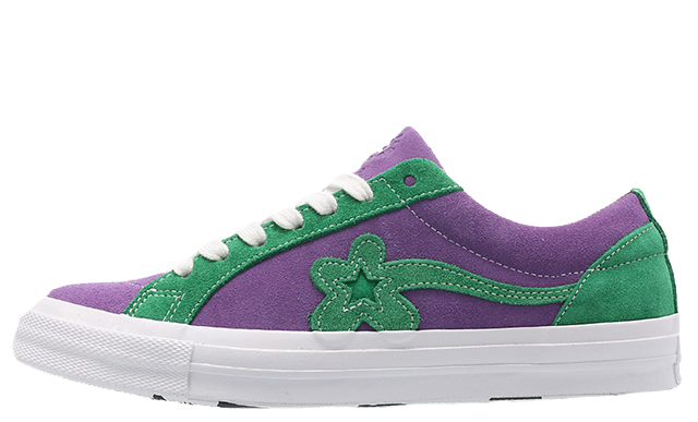 Converse x Golf Le Fleur One Star Purple Green 162128C