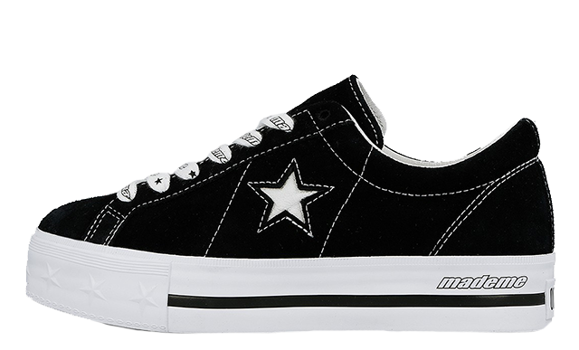 f94bc290887eb0 Hit the bell above to keep notified about the release of these sneakers on  May 24th to get your own Black Converse platform One Stars. UK true  DD MM YYYY