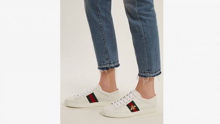 GUCCI Ace Bee White 06 thumbnail image