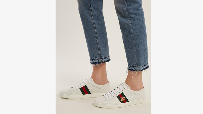 Gucci Ace Bee White | Where To Buy