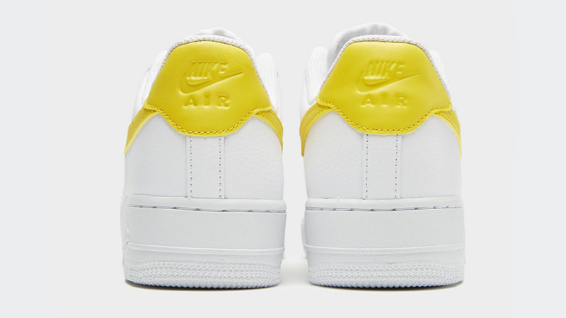 c847d38fb8874 Nike Air Force 1 07 LV8 White Yellow Womens | The Sole Womens
