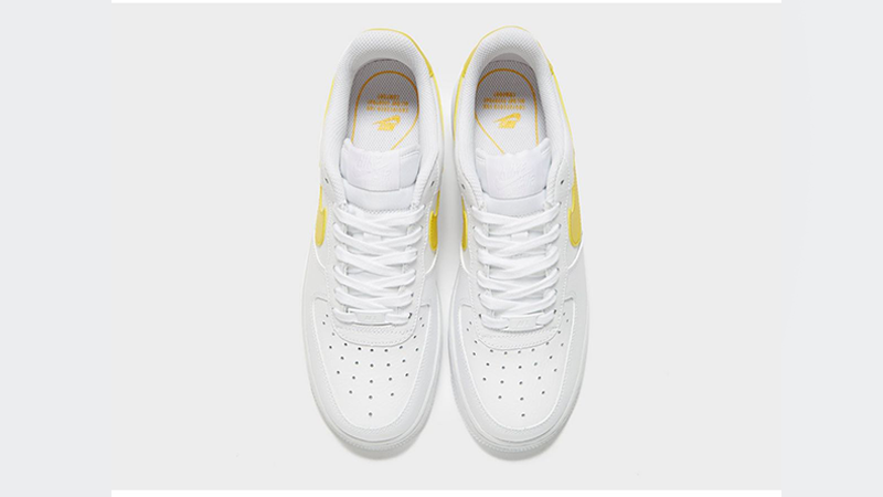 watch ae6f9 e5b08 Nike Air Force 1 07 LV8 White Yellow Womens