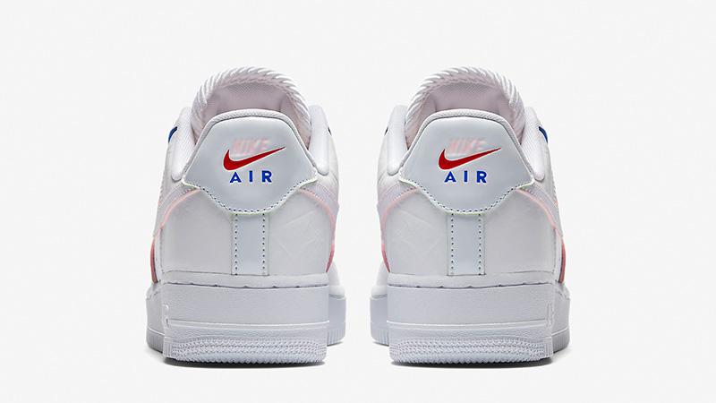 Nike Air Force 1 Low Triple White Womens  c419e3a72