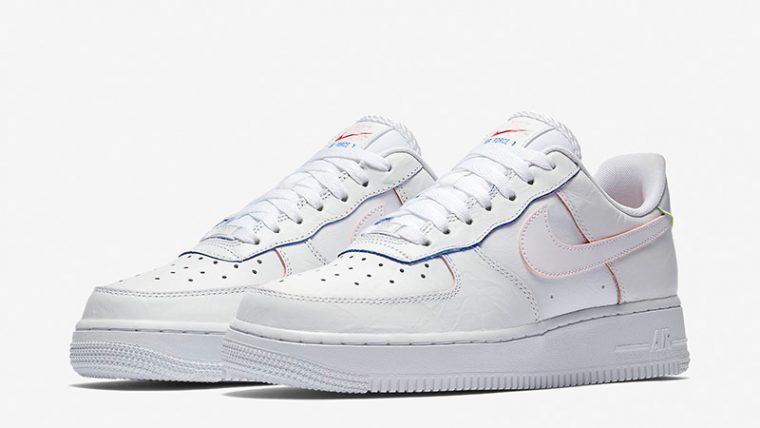 Nike Air Force 1 Low Triple White Womens  a3e009ba4a8e