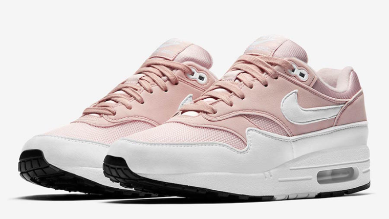 Nike Air Max 1 Barely Rose Womens | 319986-607 thumbnail image