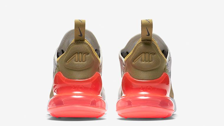 Nike Air Max 270 Flat Gold Womens  5f7a64ef0f5de